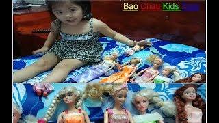 Bao Chau Play with the beautiful dolls ,Bao Chau Kids Toys