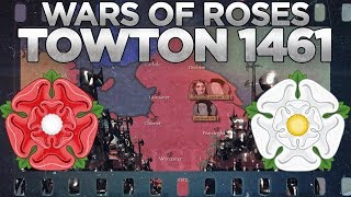 Battle of Towton 1461 - Wars of the Roses DOCUMENTARY