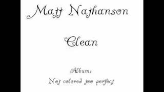 Watch Matt Nathanson Clean video