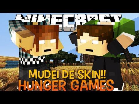 Mudei de Skin Para Dar Sorte !! - Hunger Games Minecraft