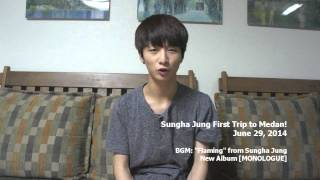 Sungha Jung talks about his first trip to Medan, Indonesia!