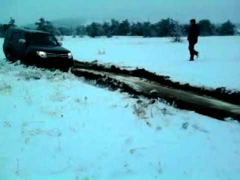 PAJERO WAGON-IV-Зима, Ай-Петри