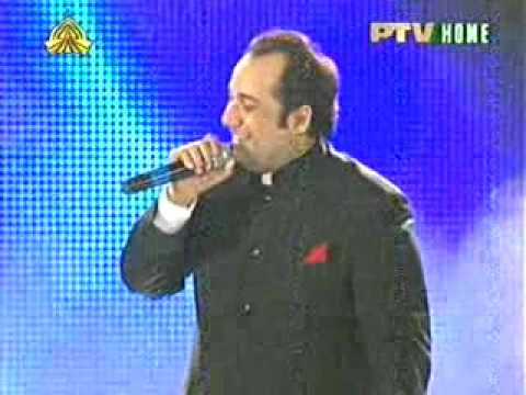 Rahat Fatah Ali Live Tere Mast Mast On Ptv video