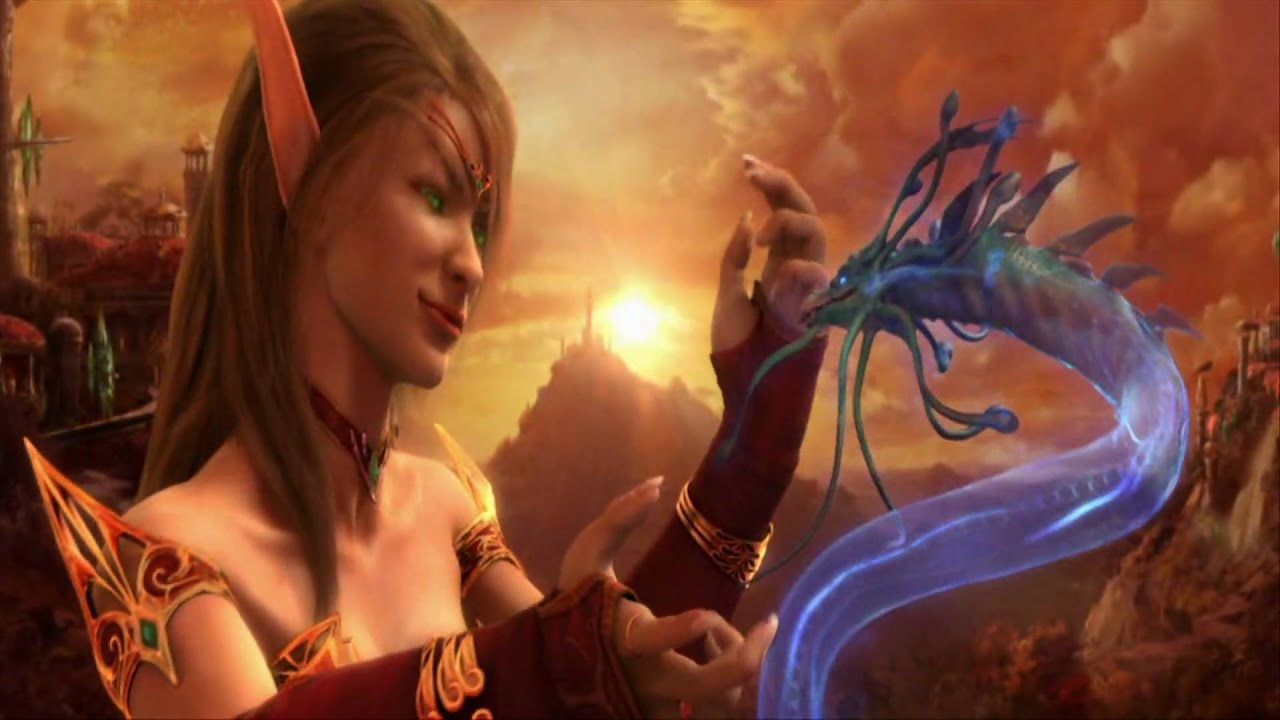 Blood elf cinematic wallpaper nude video