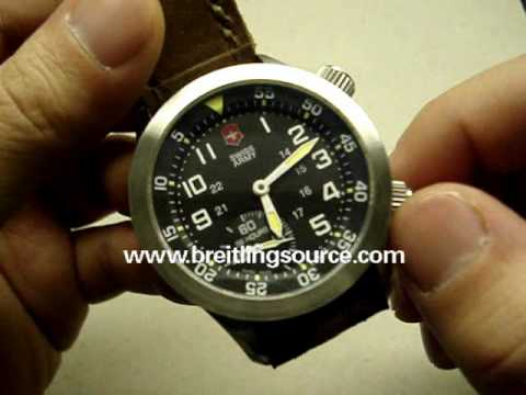 Victorinox Swiss Army Mach 4 IV Watch Review Video