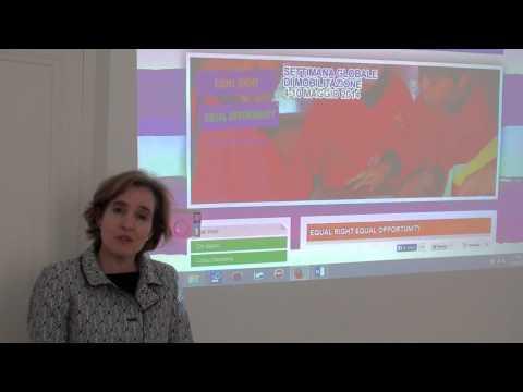 Educazione globale: un messaggio per l'italia da Alice Albright, direttore della GPE