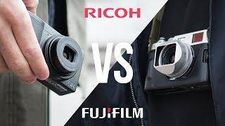 Ricoh GR III vs Fujifilm X100F - Let's compare!
