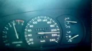 Top Speed Wira 1.8cc SOCH Mitsubishi VS Toyota Harrier
