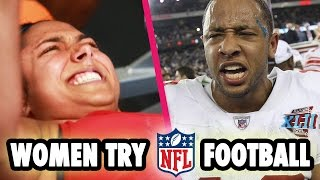 Women Try The NFL Fitness Test