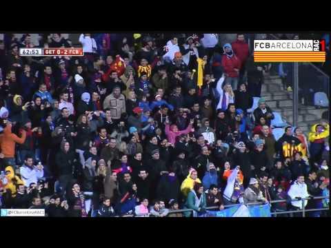 T13/14 1/8 Copa del Rei: Getafe CF 0-2 FC Barcelona (RAC1)
