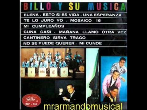 LP. 1965 - BILLO Y SU MÚSICA - DISCO COMPLETO.-