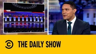 Democratic Candidates And Their Stand-Off On Health Care | The Daily Show with Trevor Noah