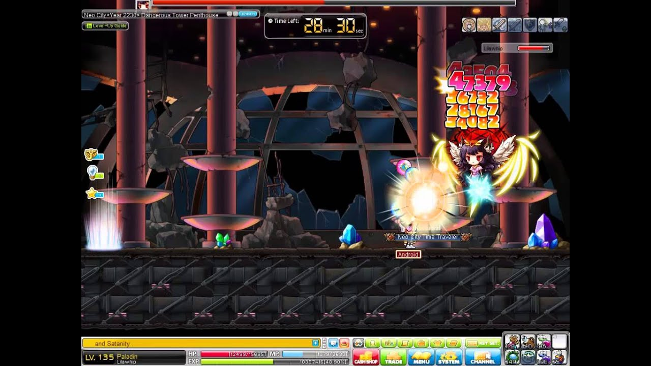 Maplestory Tera Forest Theme Dungeon Tera Forest
