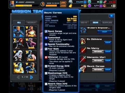 Marvel Avengers Alliance-4 Seals set and Pestilence Beast