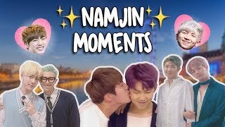 ♡ NamJin Moments ♡