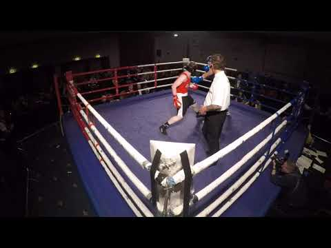 Wolverhampton | Ultra White Collar Boxing | James Watton VS Dan Lloyd