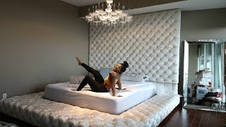 REVEALING OUR NEW CUSTOM BED!!!!