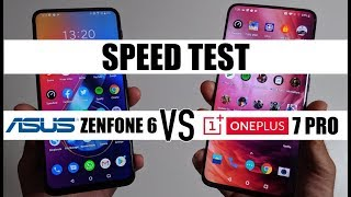 Ultimate Speed Test - ASUS Zenfone 6 vs OnePlus 7 Pro