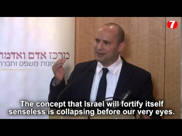 Bennett: Abbas is 'addicted to terror'
