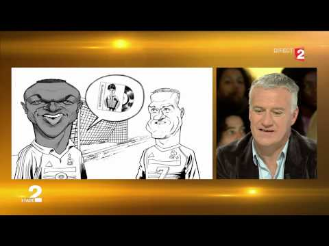 Portrait minute Didier Deschamps (Guillaume Papin, Thierry Coquelet, Charles Da Costa et Wyllow)
