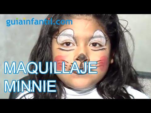 Maquillaje de fantasía de Minnie - YouTube