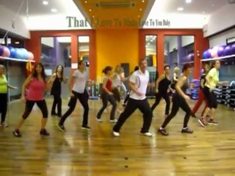 Jennifer Lopez - Dance Again - Aerobic Choreography - Back 2 Basics - 11/12/2012.