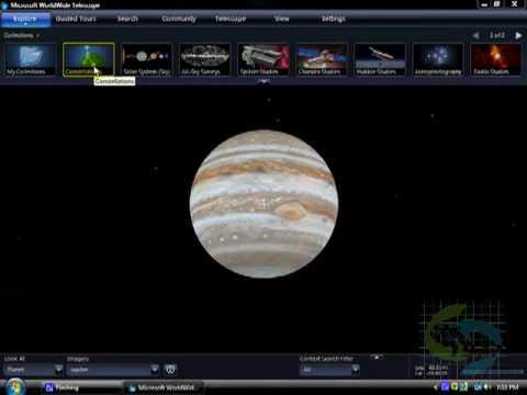 Worldwide Telescope (descarga e instalacion)