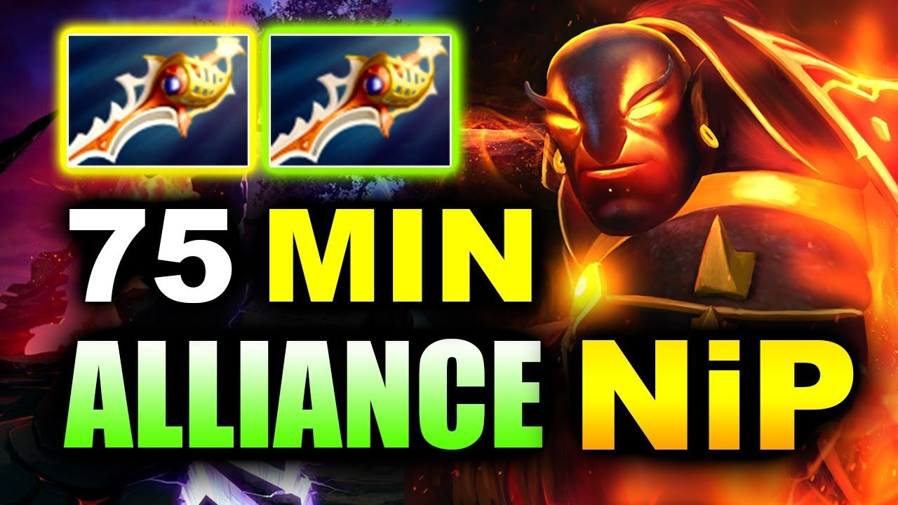2x RAPIERS 75 MIN RatDOTA! - ALLIANCE vs NIP - DOTA PIT Minor 2019 DOTA 2