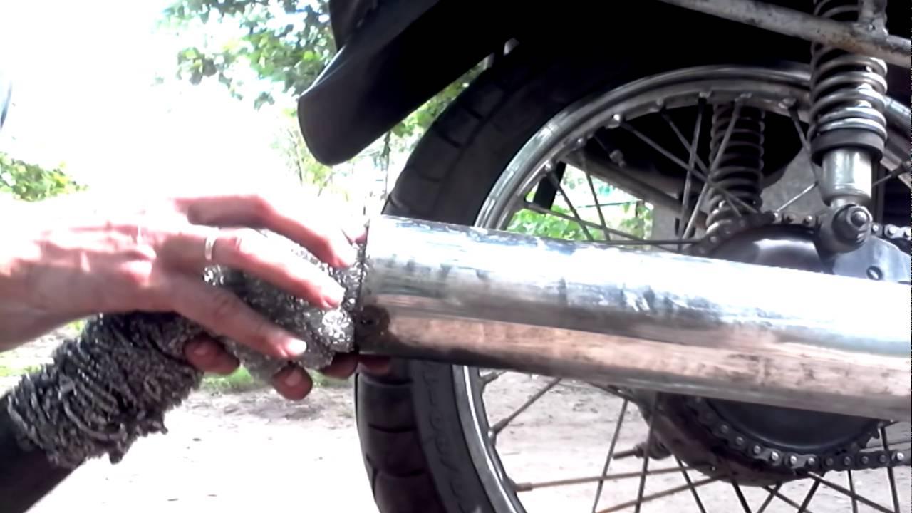 Как сделать на мотоцикле потише 363
