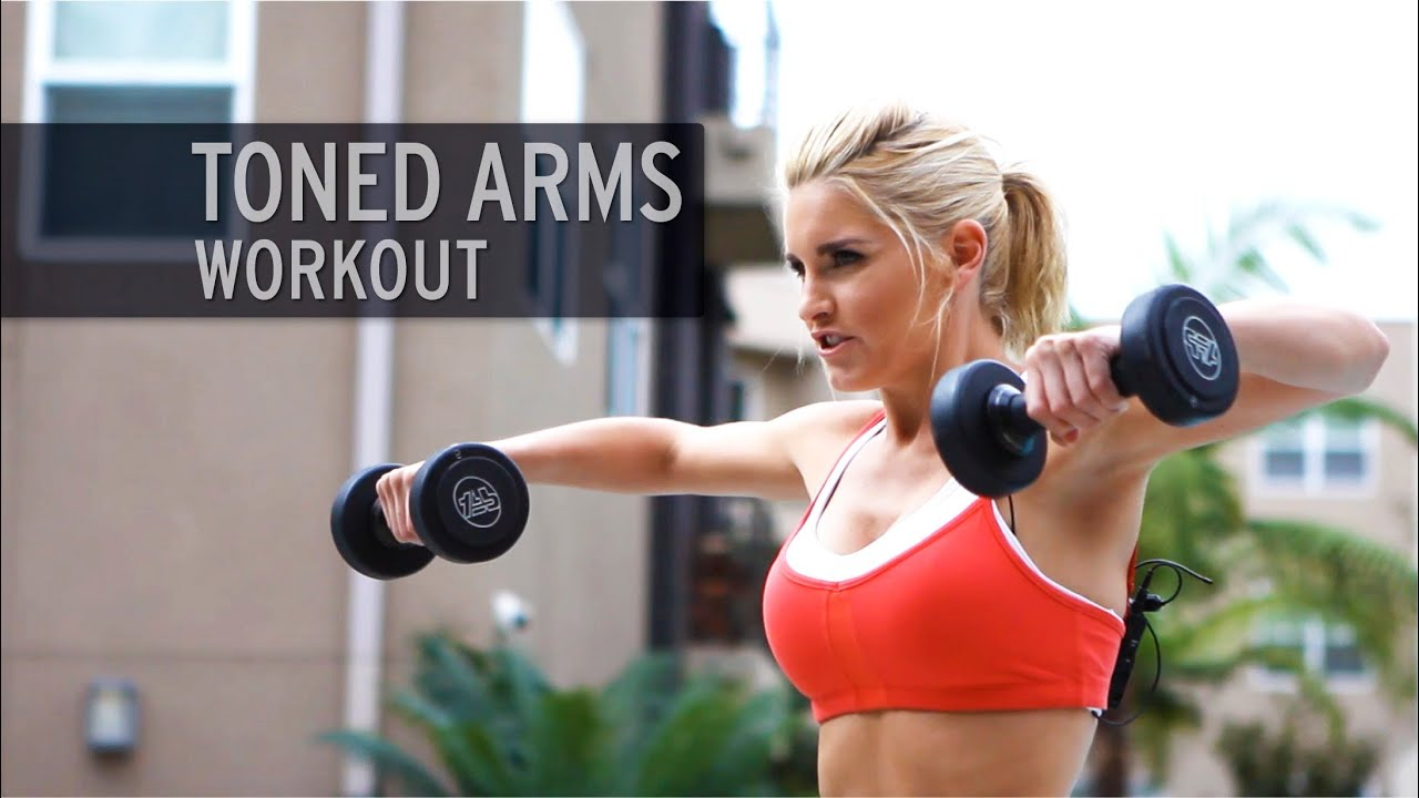 Toned arms workout youtube