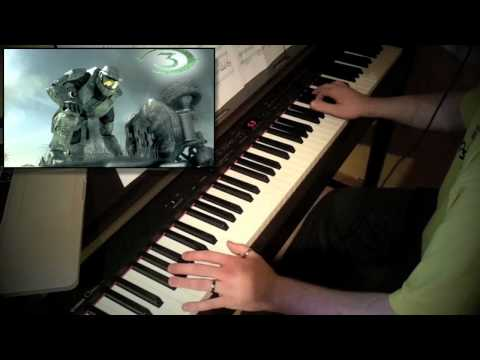Halo 3 - One Final Effort (piano cover with original song)
