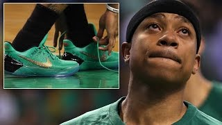 Boston Celtics Star Isaiah Thomas Plays Through Tears After Sister