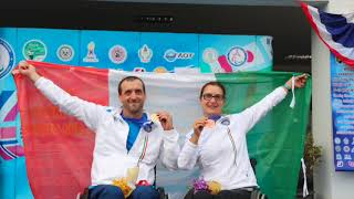 Italian shooting paralympic team