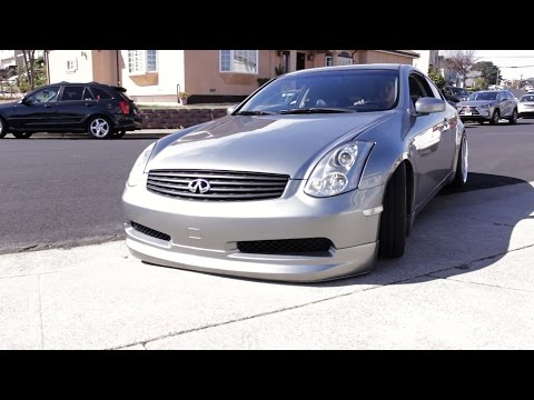 WHAT IT IS LIKE DRIVING A SLAMMED G35 EVERYDAY!