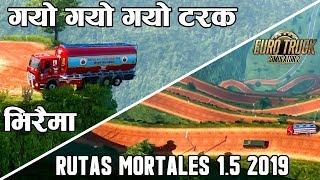Nepal Oil Transporter Truck - Dangerous Hill Driving [ETS 2]