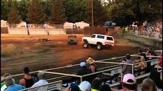 truck rolls over, 2015 yuba sutter fair