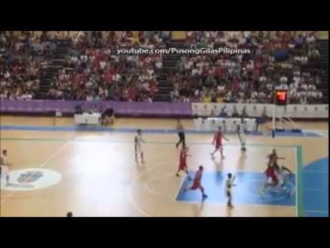 Andray Blatche Do the Dream shake | Gilas Pilipinas vs Egypt tune-up Game
