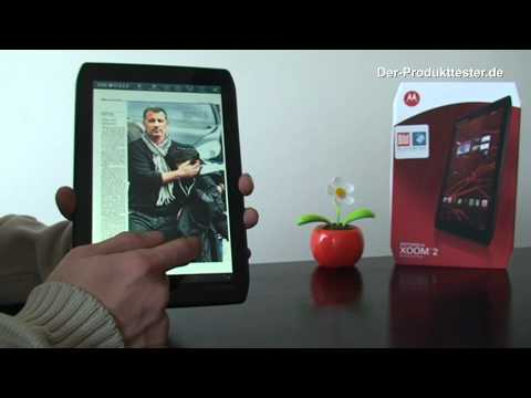 Motorola Xoom 2 Media Edition im Test