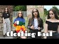 Clothing TRY ON Haul UNIF ZARA URBAN OUTFITTERS mp3