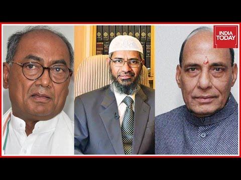 Digvijay Singh Clarifies On Zakir Naik Row, Attacks Rajnath Singh