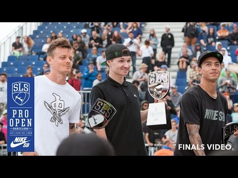 Street League Pro Open Finals and Best Trick