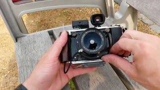 DIY 6x9 medium format camera w Schneider SA MC Super Angulon 47mm f5.6