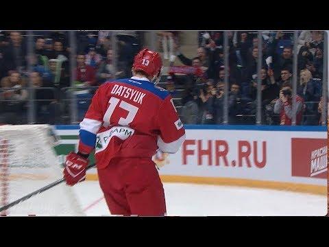 Россия — Беларусь - 3:0. Павел Дацюк гол в матче