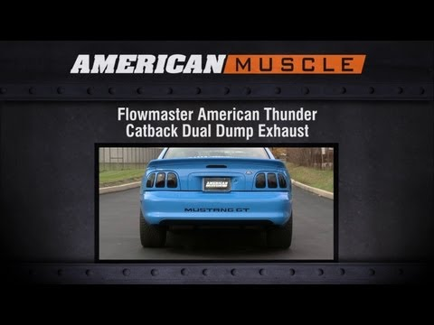 1986 1998 Mustang Flowmaster Exhaust Sound Clip American
