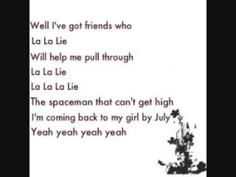 La La Lie - Jack's Mannequin {Lyrics}