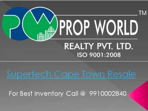 Supertech Cape Town |9811004272|Supertech Cape Town Resale Noida|Supertech Resale