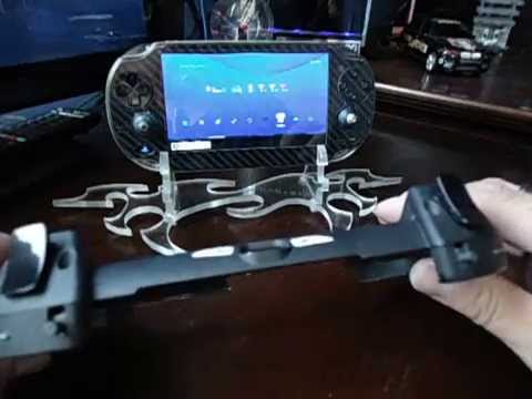 PS Vita Custom R2/L2 Trigger grip mod