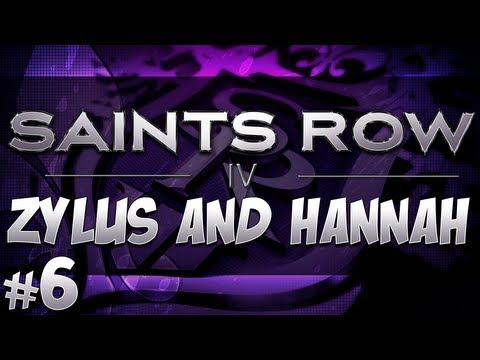 Yogscast Zylus - Saints Row 4 ft Hannah pt 6