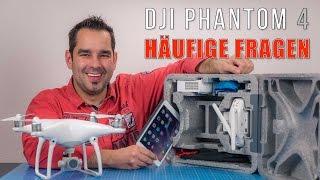 DJI Phantom 4 #03 - FAQ: Flughöhe, Koffer & P3 Zubehör