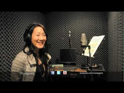 A look at the soundtrack recording of Mangoes The Series where Kristie learns Urdu to sing a famous song. Visit http://facebook.com/mangoestv for more exclus...